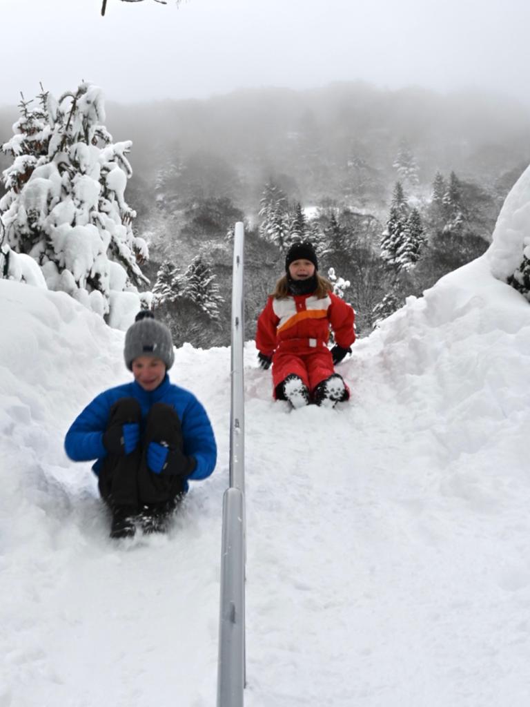 Mont Dore en hiver
