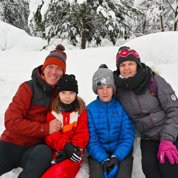 Semaine de vacances en hiver au Mont Dore